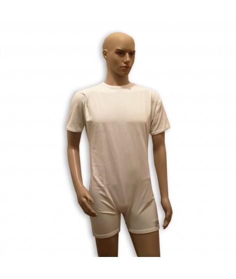 Body shorty en pul manches longues - ouverture fermeture éclaire