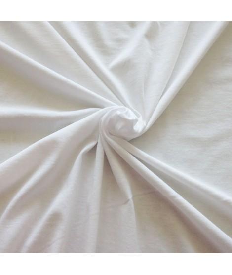 tissu coton jersey blanc. Black Bedroom Furniture Sets. Home Design Ideas